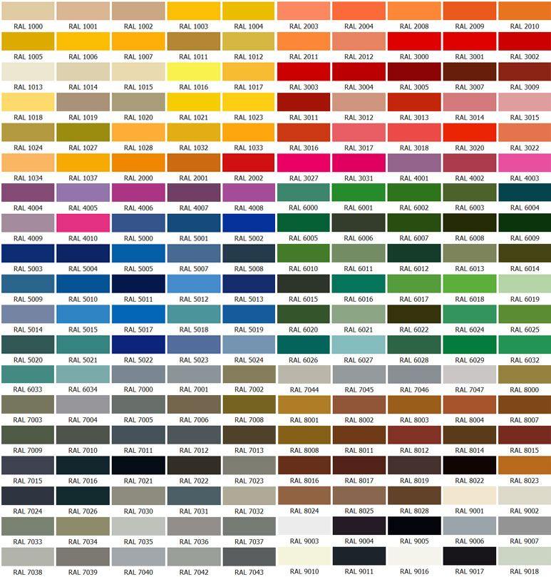 kis bahcesi renk katalogu Fermuarlı Branda